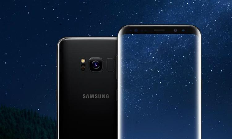 Galaxy S9 vingerafdrukscanner