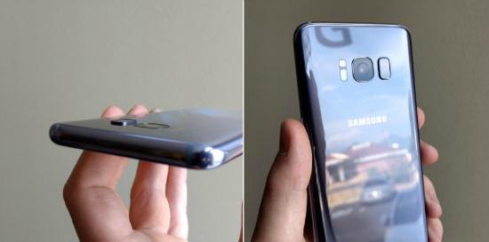 Galaxy S8 reparatie resultaat