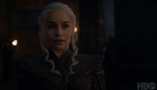 We krijgen onder andere in kijkje in de quest van Daenerys