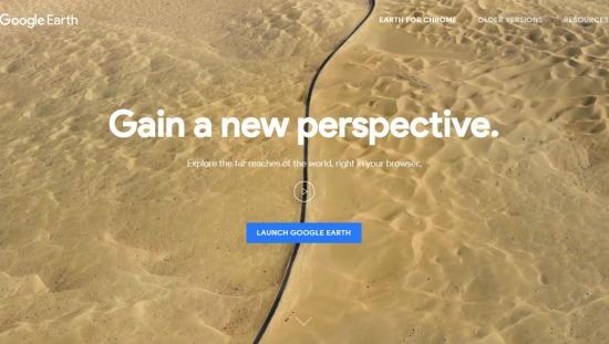 Google Earth nieuw