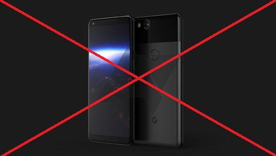 Google Pixel 2 heeft het zwaar te voortduren