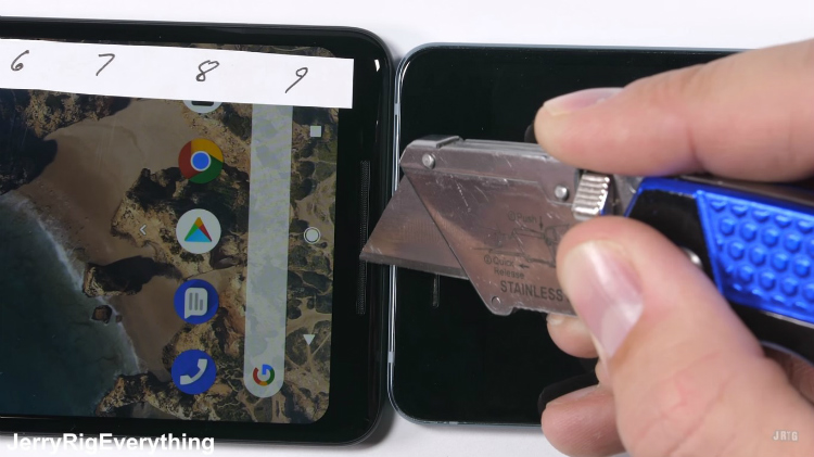 Google Pixel 2 XL marteltest