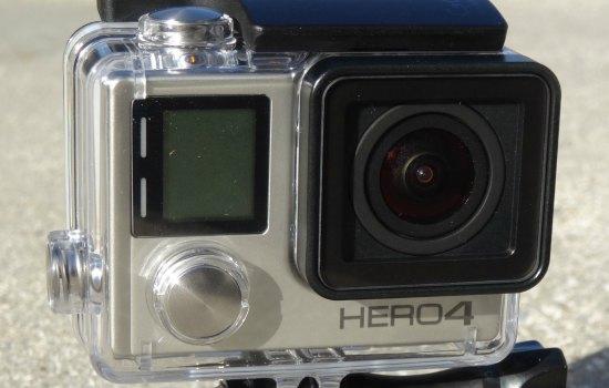 De GoPro hero 4