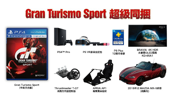 Gran Turismo Sport bundel