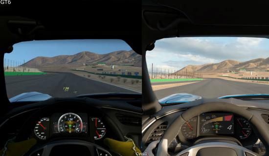 Gran Turismo Sport versus GT6