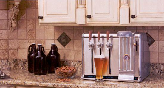 De Growler Chill houdt je speciaalbier koel en klaar voor consumptie