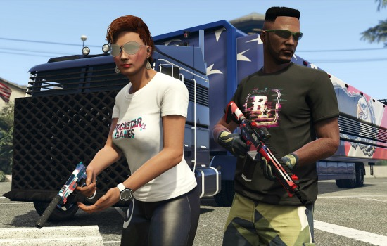 GTA V Independence Day