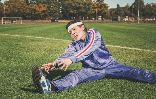 Lekker sporten werkt natuurlijk ook!