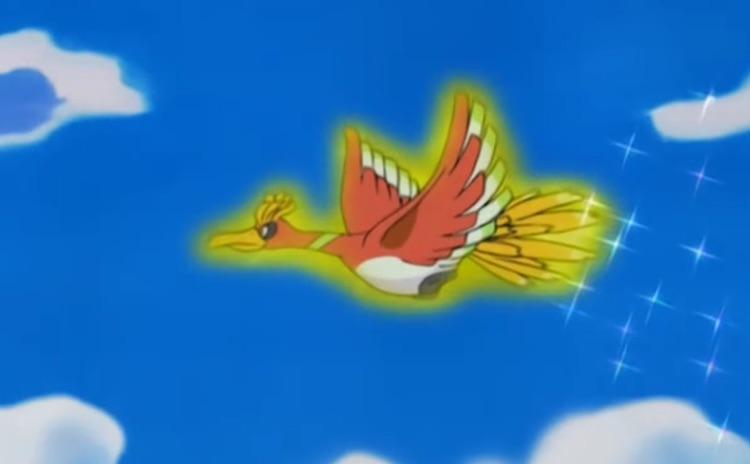Legendarische Pokémon Ho-Oh kan tijdelijk worden gevangen