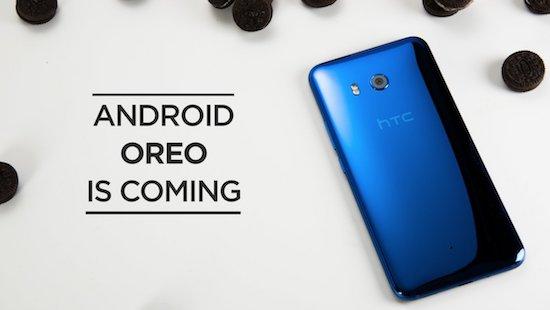 Deze smartphones van HTC krijgen Android Oreo