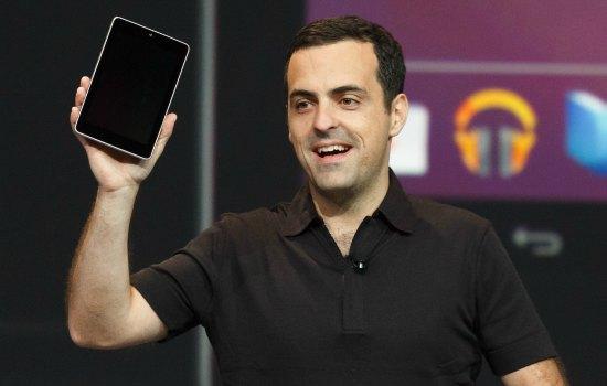 Hier presenteerde hij nog een nieuwe tablet!