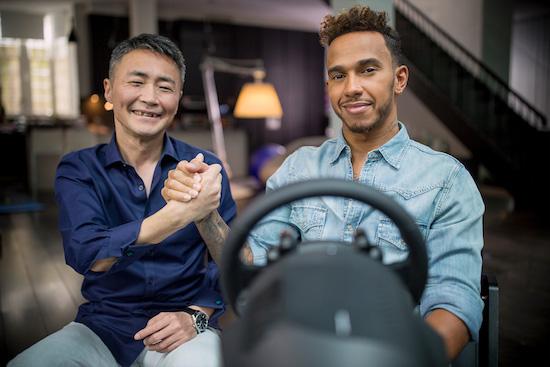 Lewis Hamilton in Gran Turismo Sport