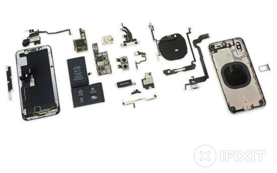 Veel bijzondere onderdelen in de nieuwste iPhone