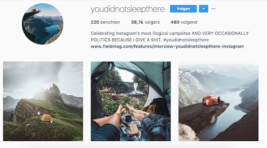 Instagrammer pakt neppe travel-accounts aan