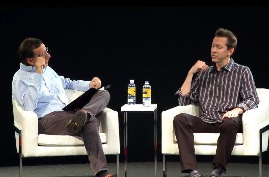 Scott Forstall tijdens het interview