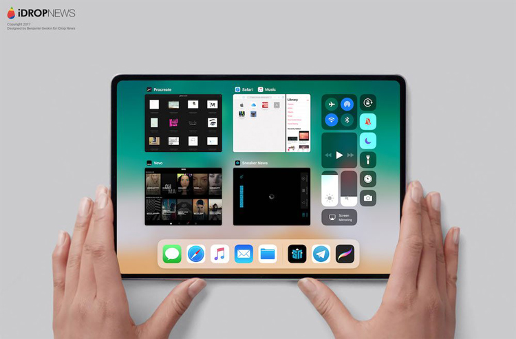 iPad zonder bezels