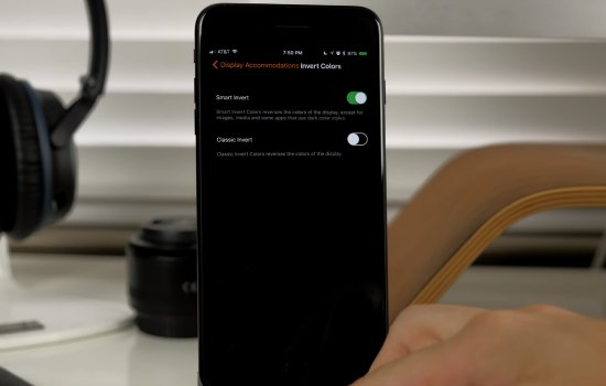 Dit is de donkere versie van iOS 11