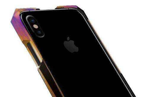 Titanium iPhone X case