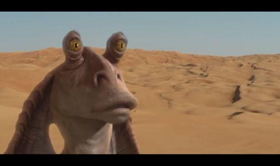 Yup, Jar Jar is de laatste Jedi