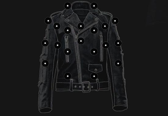 Wandelend audiosysteem: deze jas heeft 20 speakers