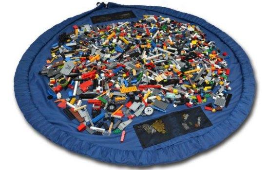 Deze tas is ideaal voor Lego