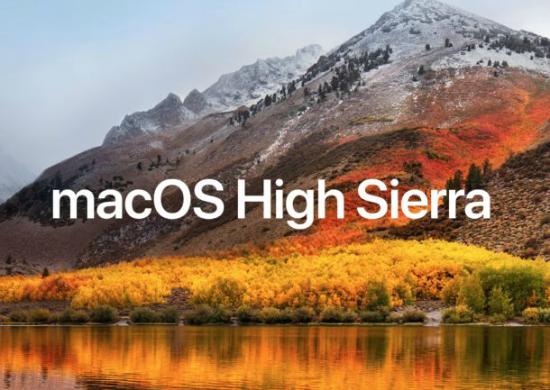 MacOS High Sierra
