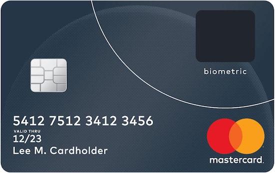 MasterCard komt met biometrische creditcard