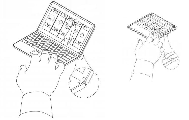 Een sexy nieuwe notepad of patent voor scharnieren?