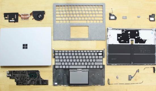 Microsoft Surface Laptop iFixit
