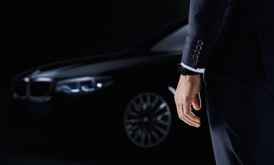 Slimme polsband vervangt de sleutel van je BMW 5-serie