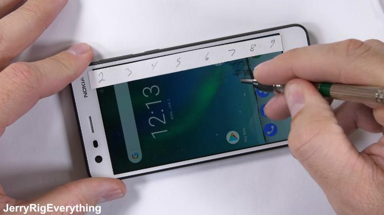 Nokia 2 marteltest