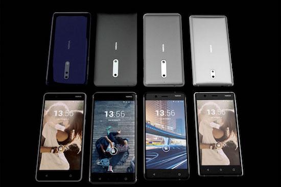 De 2017-toestellen van Nokia