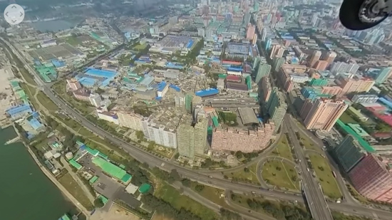 Noord Korea 360 graden camera