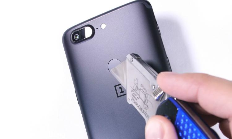OnePlus 5T marteltest