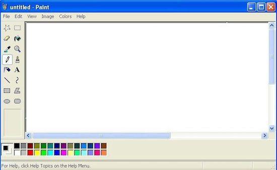 Microsoft Paint is niet kapot te krijgen