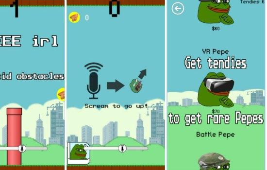 Apple houdt niet van Pepe de kikker