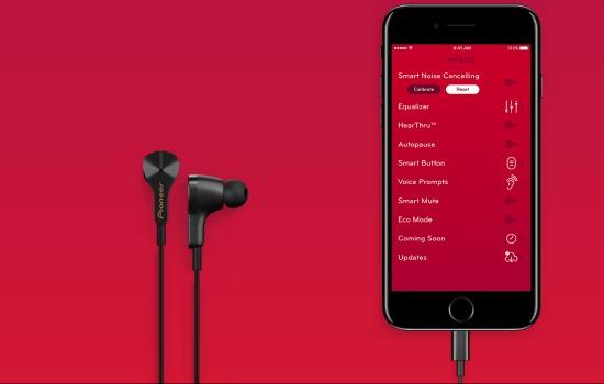 Smart oordopjes komen natuurlijk met een app