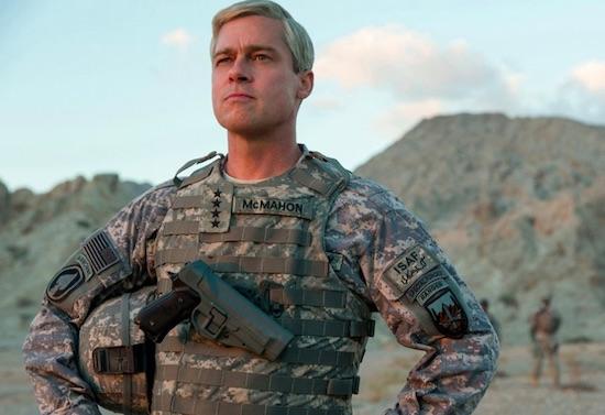 Trailer: Brad Pitt in nieuwe Netflix Original War Machine