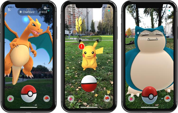 Pokémon GO ARKit update