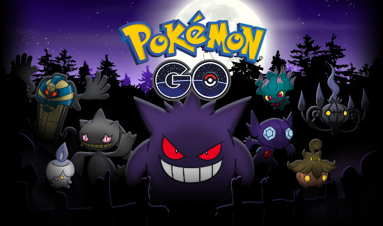 Pokemon GO Halloween derde generatie