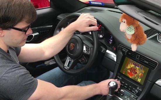 Doom in je 911 cabrio
