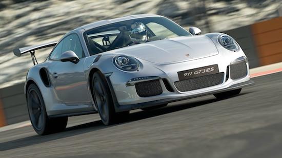 De Porsche 911 GT3 RS in Gran Turismo