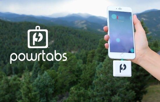 Powrtab: de wegwerpbatterij voor je smartphone