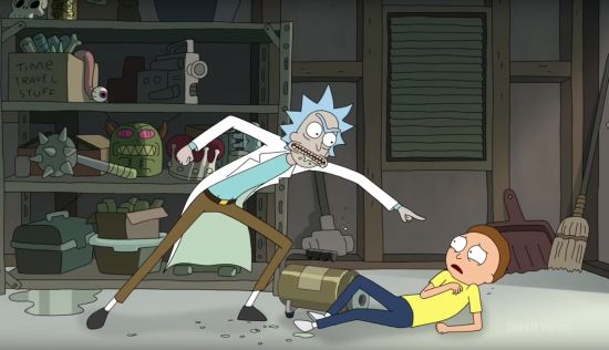 Het zijn relschoppers die de fans van Rick and Morty een slechte naam geven