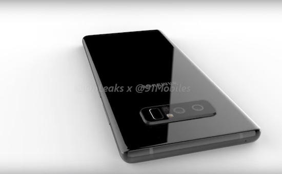 Een eerste blik op de Samsung Galaxy Note 8
