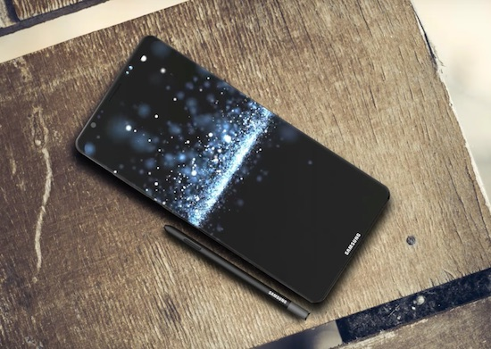 Video: een eerste blik op de mogelijke Galaxy Note 8