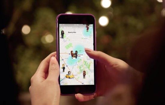 Met Snap Map kun je je vrienden stalken