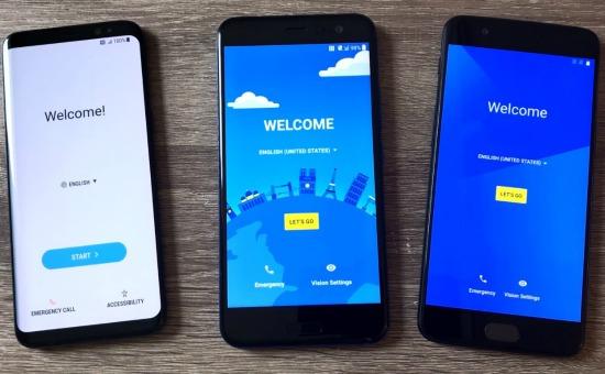 Speedtest Galaxy S8 HTC U11 OnePlus 5