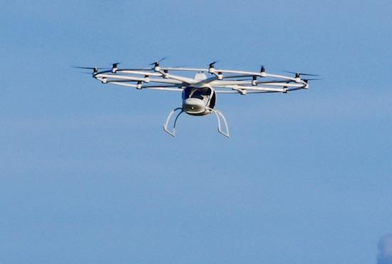 Dit vliegende apparaat is de taxi van de toekomst