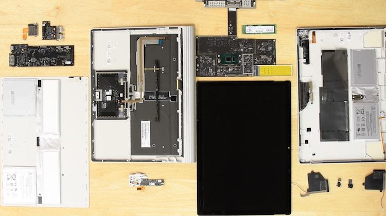 Ga niet zelf sleutelen aan de Microsoft Surface Book 2
